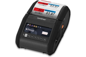 Brother RuggedJet 3 Mobile Label and Receipt Printer